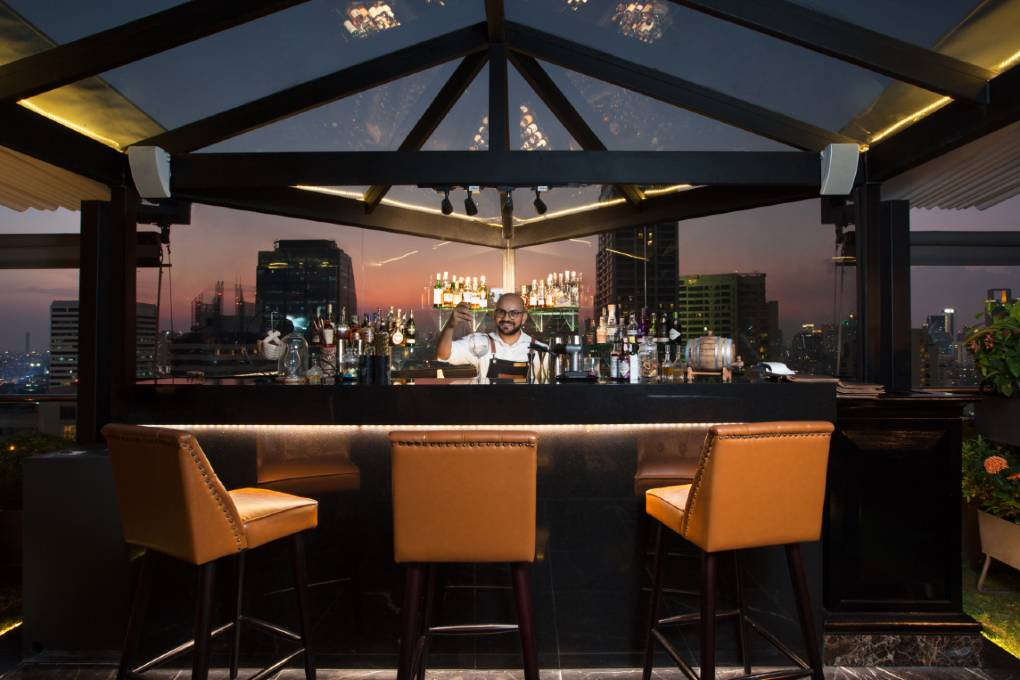 The 1826 Mixology & Roof Top Bar in Bangkok