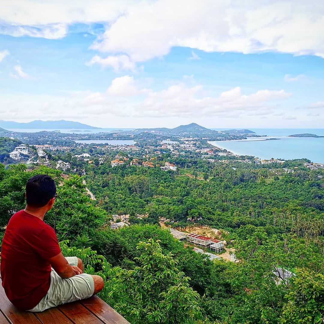 Viewpoint op Koh Samui