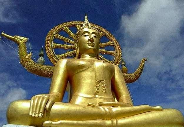 Big Buddha temple op koh samui