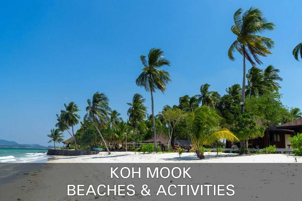 Read about Koh Mook's beaches and fun activities