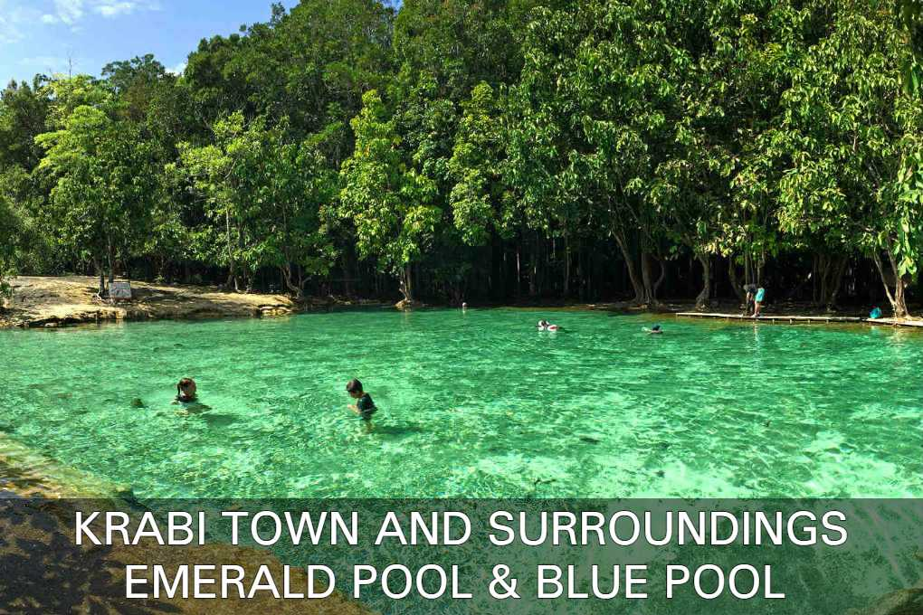 Read About The Emerald Pool & Blue Pool In The Area Of Krabi Town