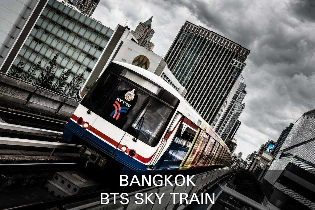 Info Abuot The BTS Sky Train In Bangkok