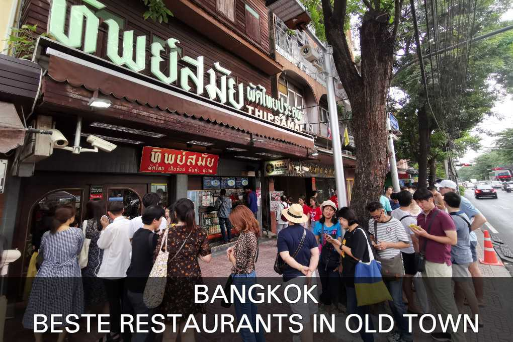 Click here to see the best restaurants in Old Town of Bangkok