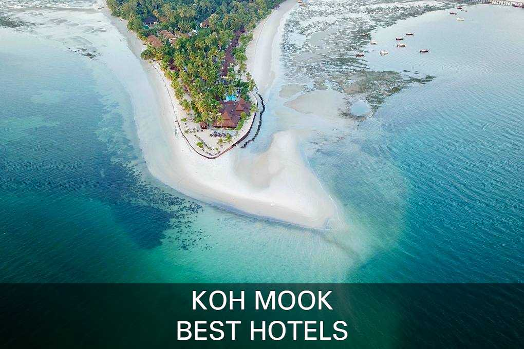 See our list with best hotels on koh mook