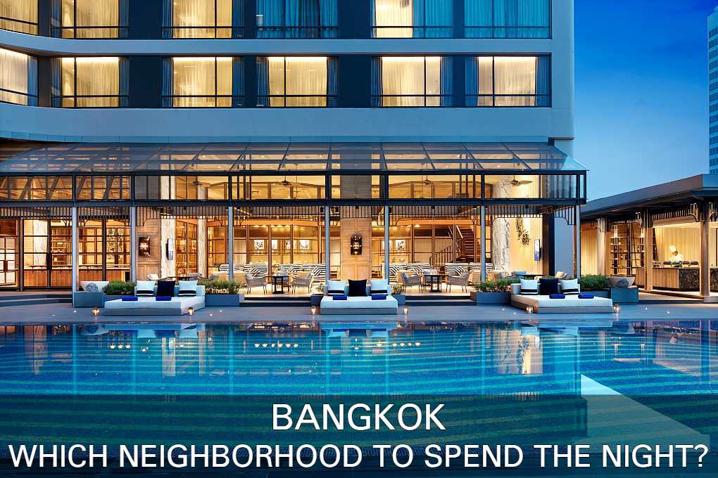 Hotel pool Bangkok