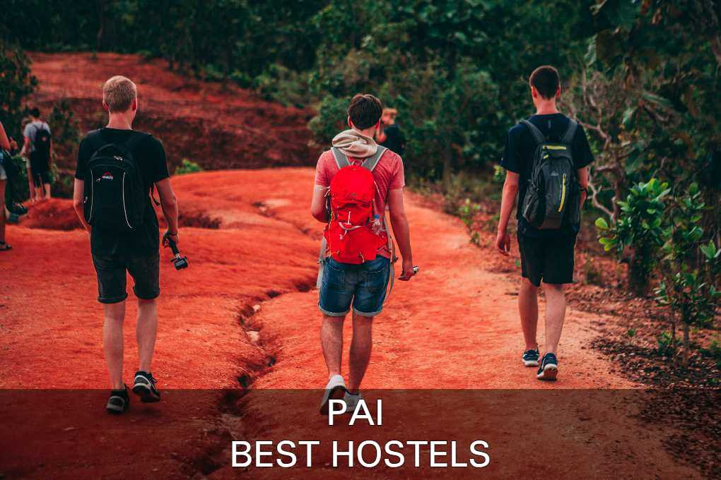 See the list with best hostels in pai here