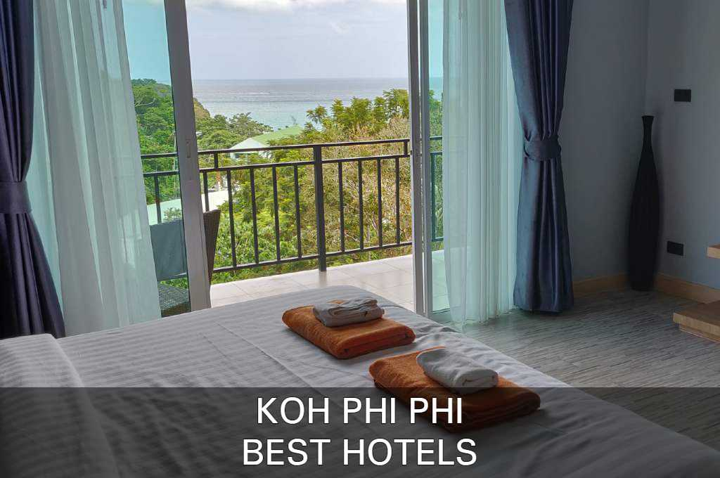 Click here to see our list with the best accommodations on Koh Phi Phi