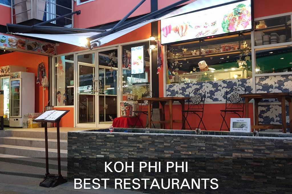 Click here to seeour list with best restaurants on koh phi phi