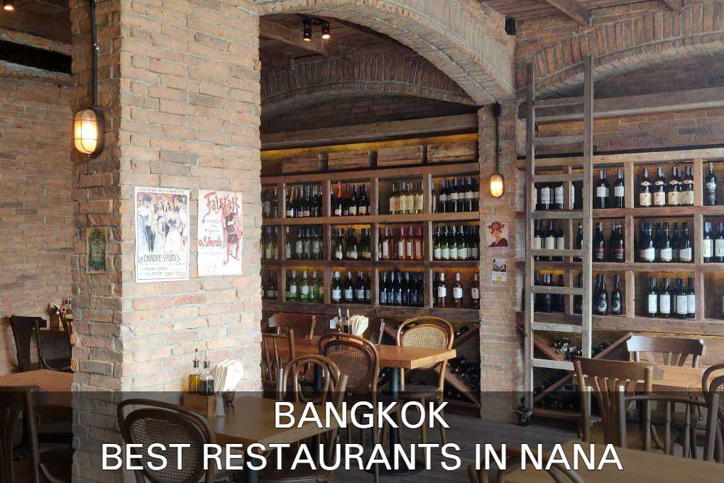 Read more about Bangkok's restaurants in the Nana area