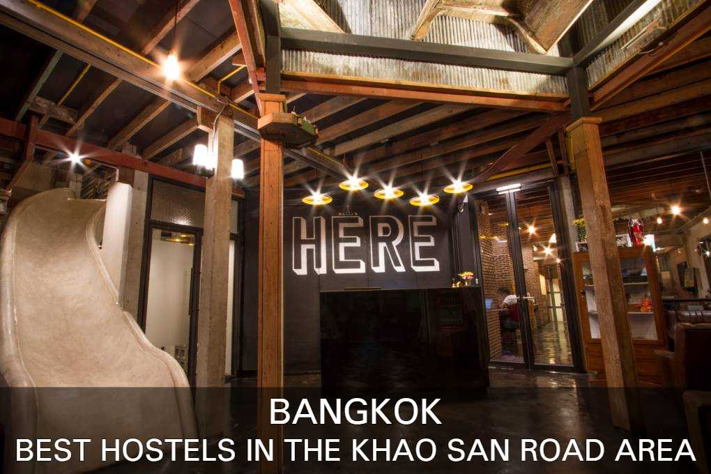 Best hostels in the Khao San Road area of Bangkok