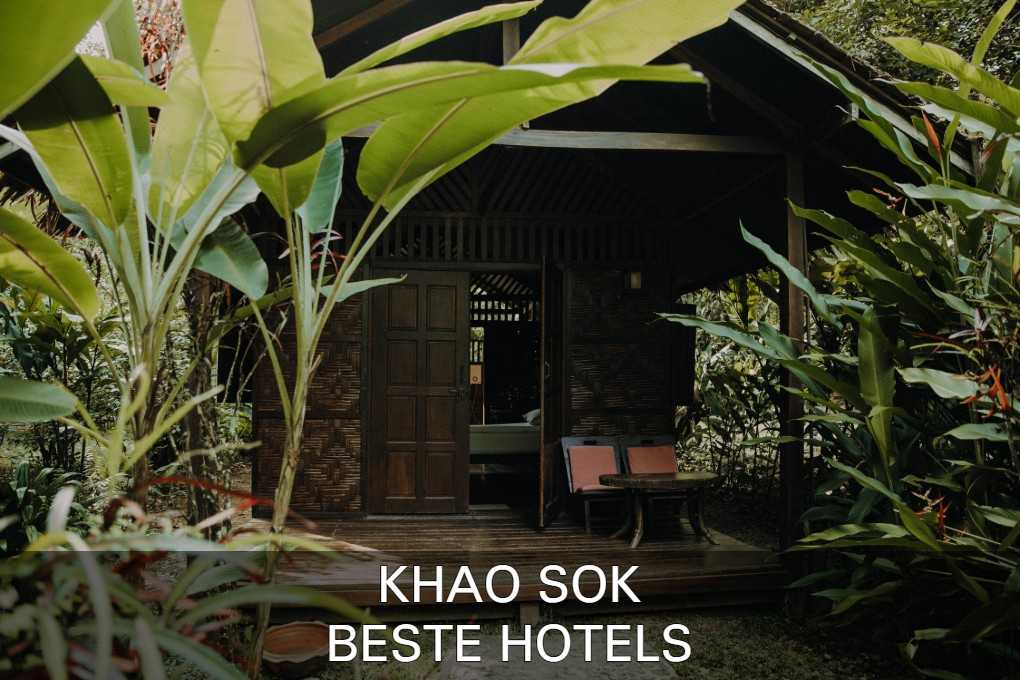 Check out the best hotels and hostels of Khao Sok here