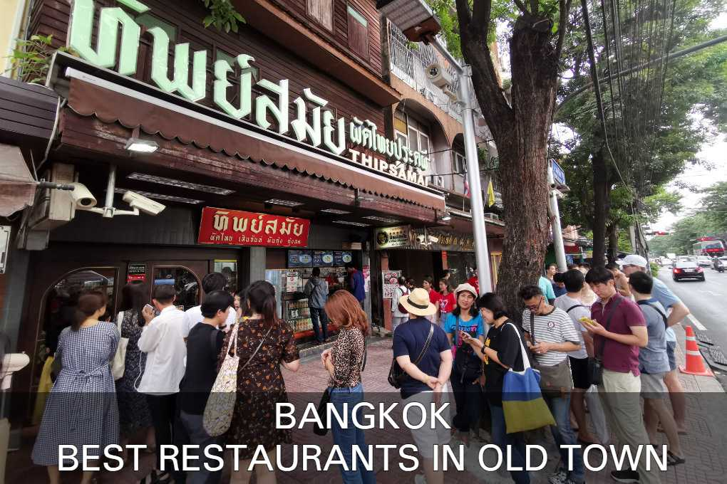 See our list with best restaurants in Bangkok's Old Town
