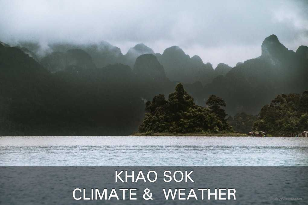 Click here to read about Khao Sok's weather and climate