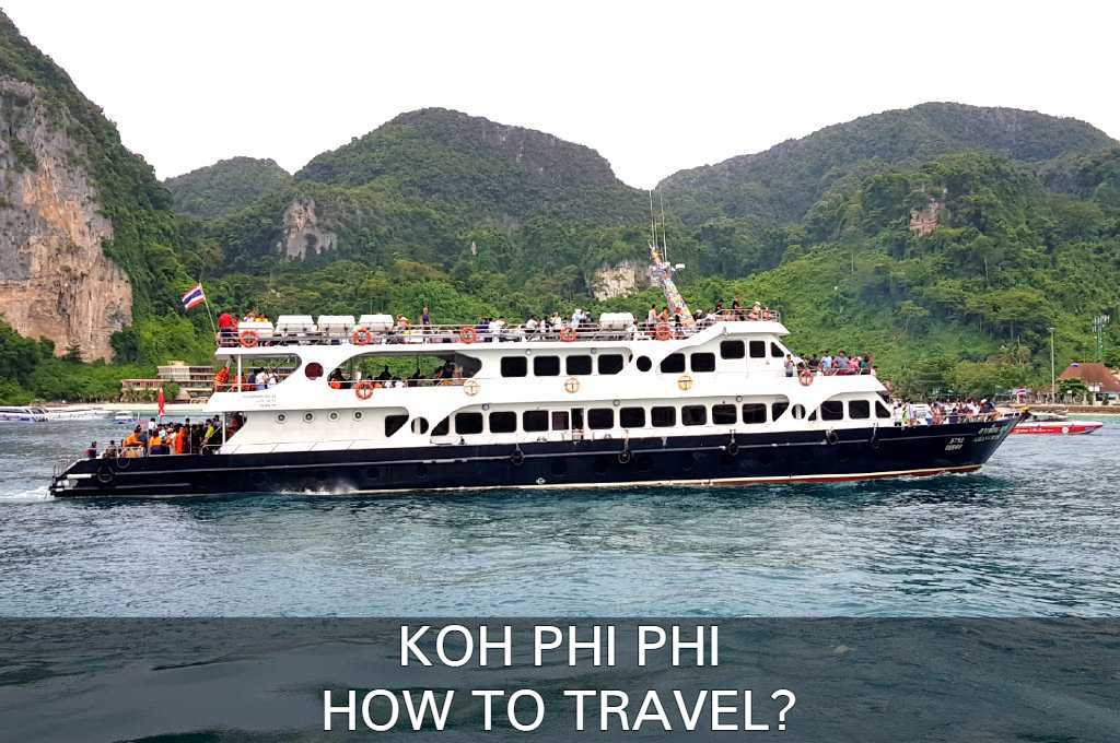 Read here how to travel to Koh Phi Phi