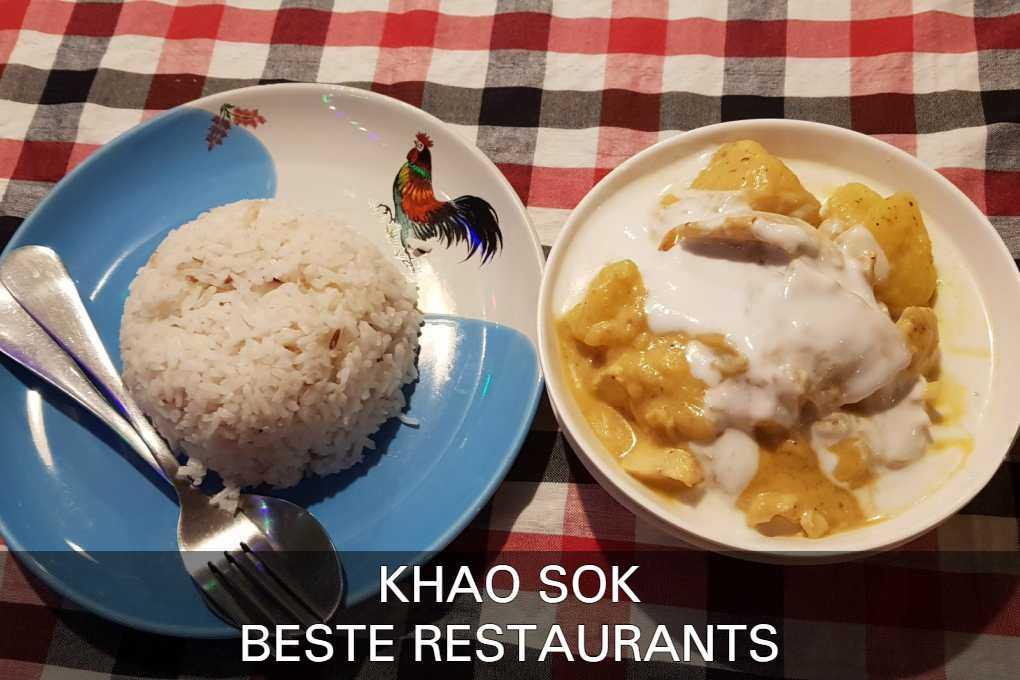 Bekijk Hier De Beste Restaurants In Khao Sok