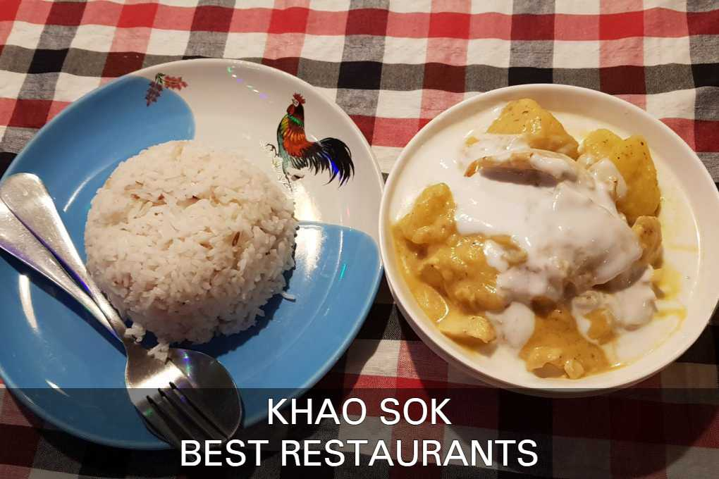 Click here to see our list with best restaurants in Khao Sok