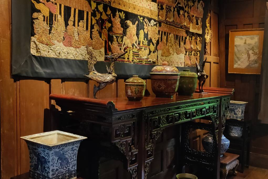 De kunstcollectie van Jim Thompson in het Jim Thompson House & Museum