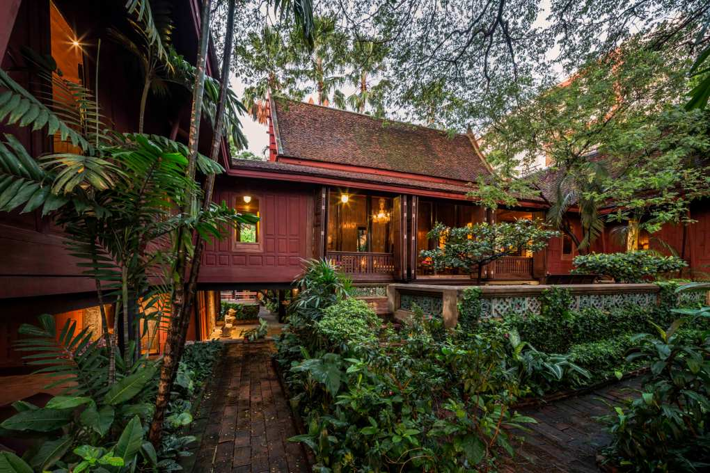 Het Jim Thompson House in Bangkok