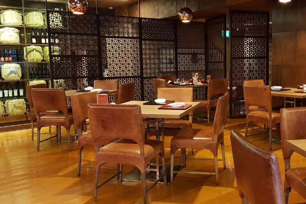 Interieur van Kisso Japanese Restaurant in in The Westin Grande Sukhumvit in Bangkok