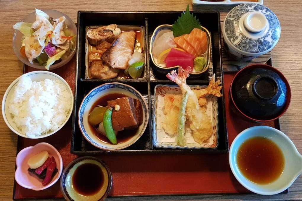 Lekker en goed Japans eten bij Kisso Japanese Restaurant in in The Westin Grande Sukhumvit in Bangkok