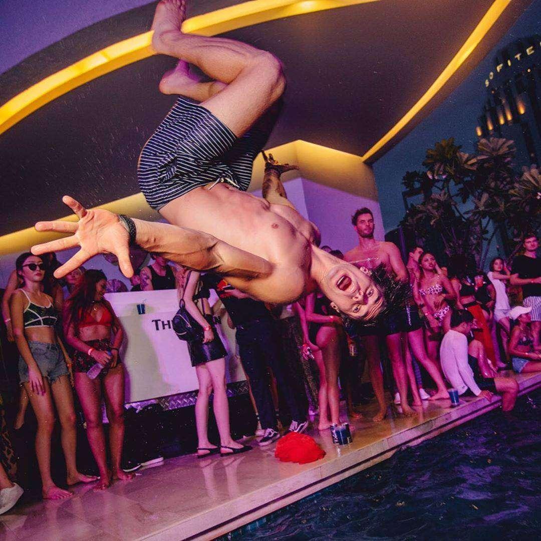Pool Party bij The Westin Grande Sukhumvit in Bangkok