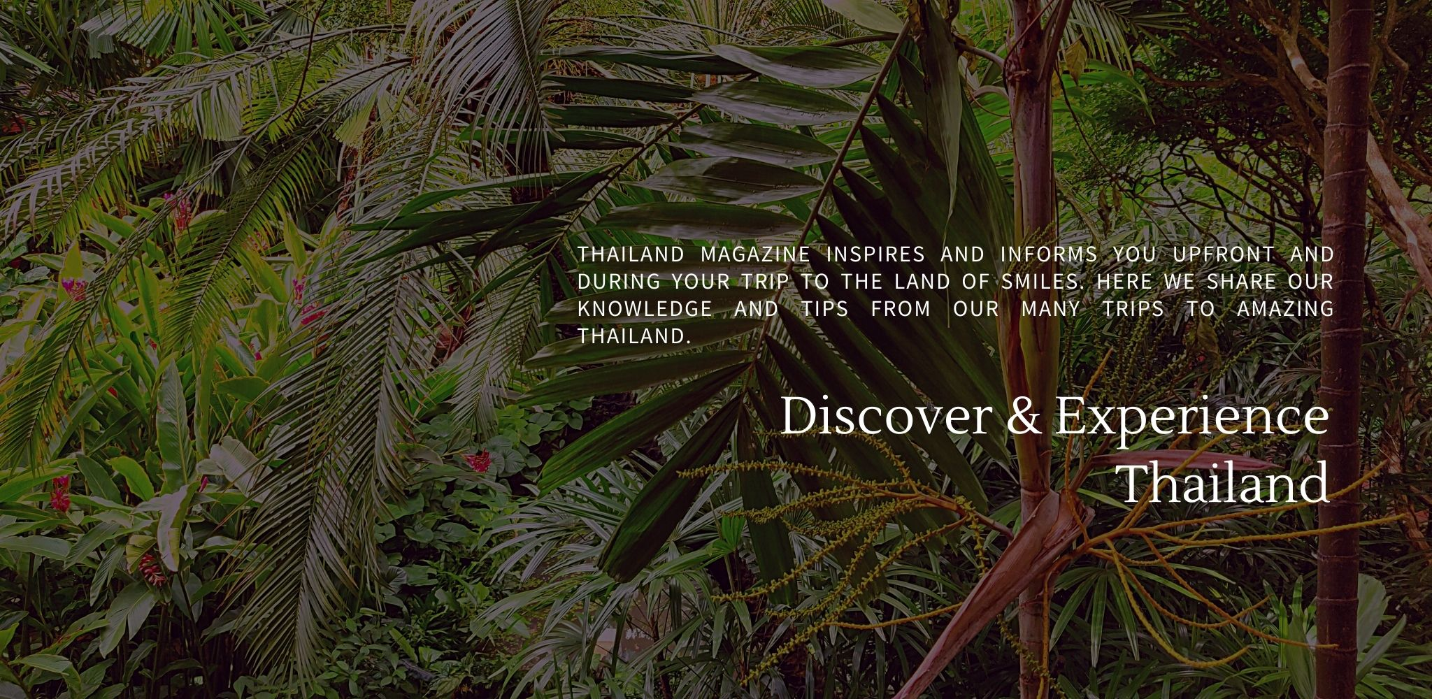 Thailand Magazine - Discover & Experience Thailand