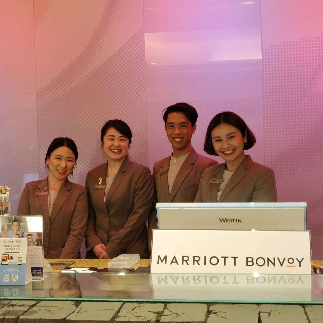 Aantal personeelsleden van The Westin Grande Sukhumvit in Bangkok