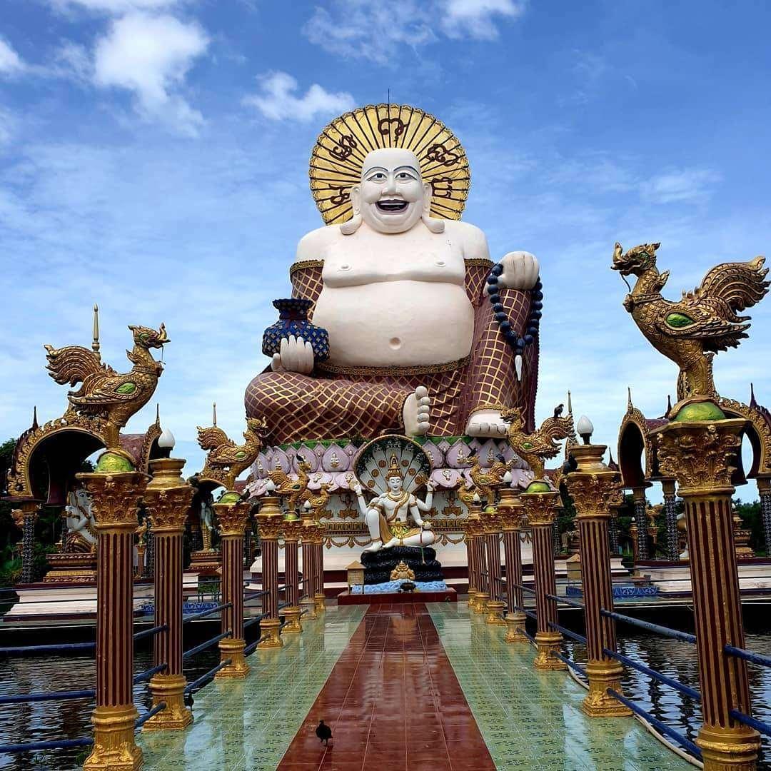 Wat Plai Laem on Koh Samui
