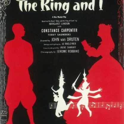 Originele poster van The King & I