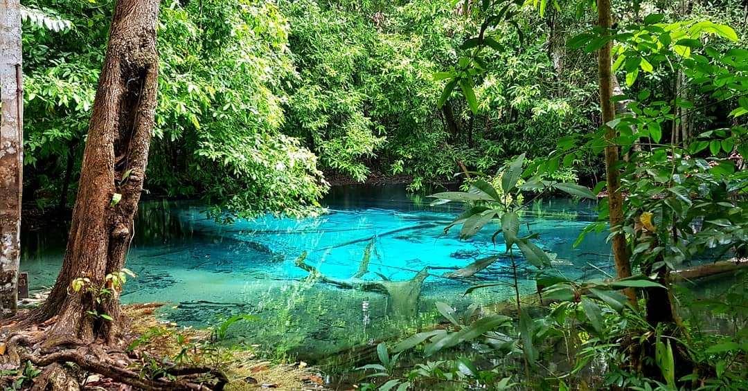 Blue Pool vlakbij Krabi Town