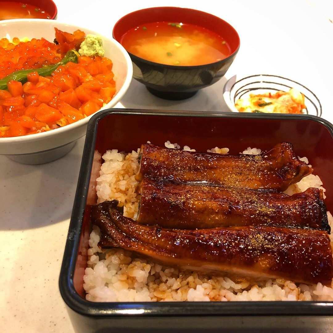 Grilled eel at Fuji Japanese Restaurant in Siam Paragon, Bangkok