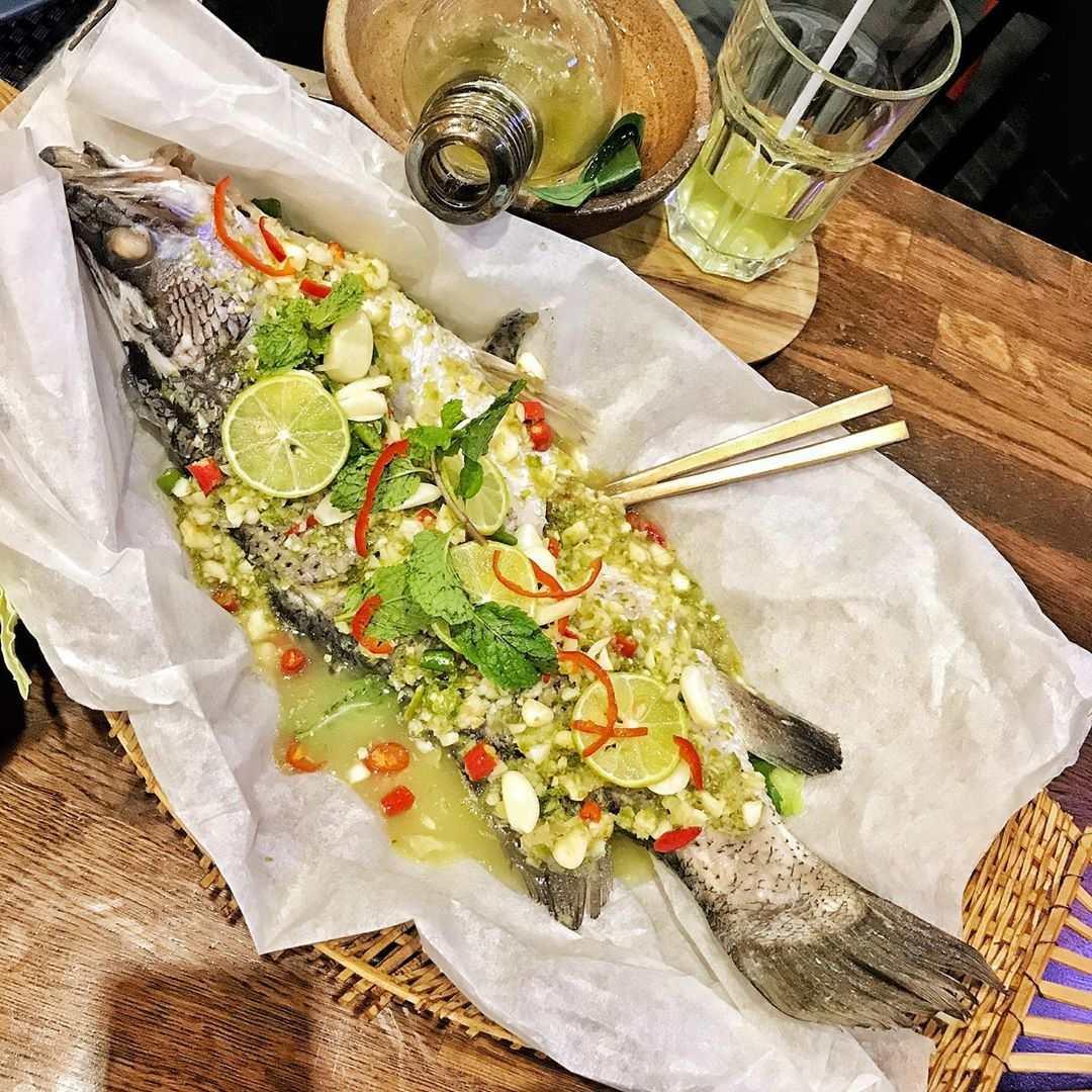Tasty fish dish at Chilli Thai in Siam Paragon, Bangkok