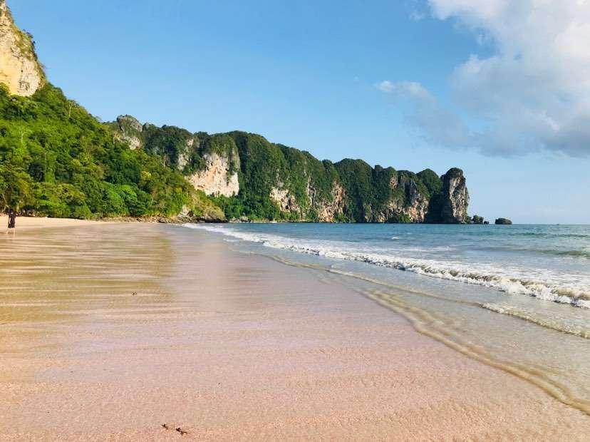 Het strand van Ao Nang