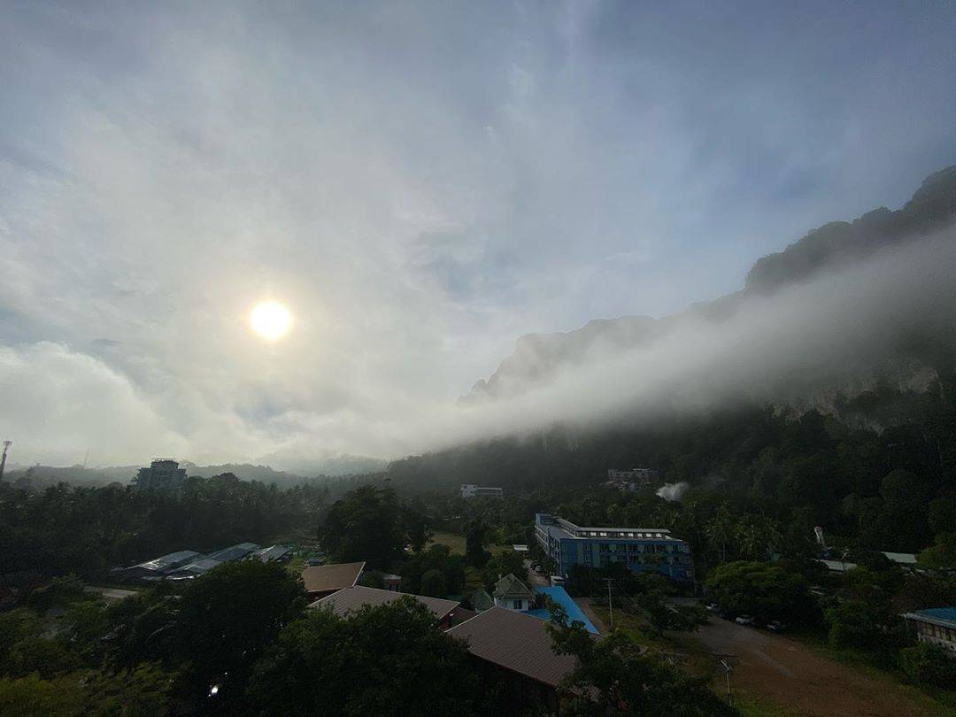 Clouds in the valley of Ao Nang