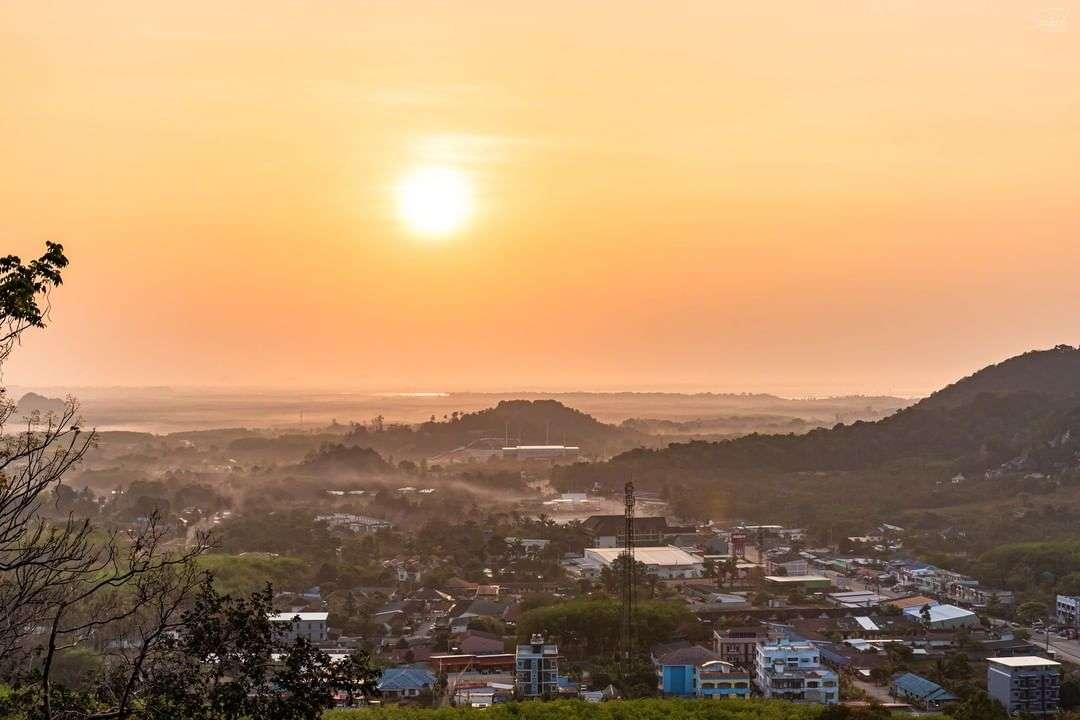 Uitzicht over Ao Nang