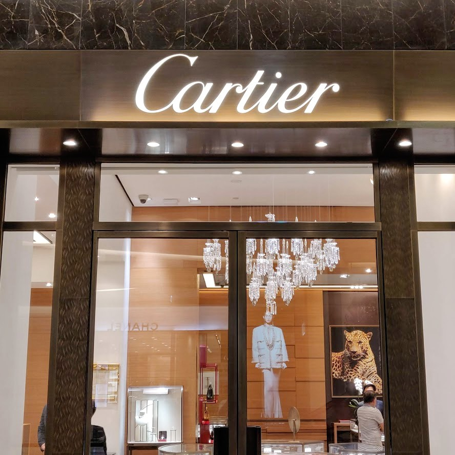Cartier winkel in Siam Paragon