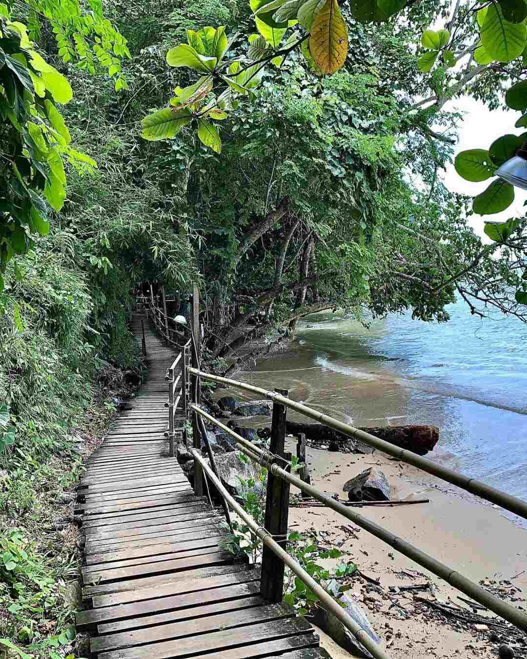 De monkey trail in Ao Nang