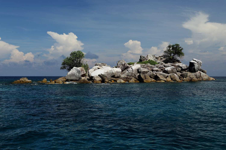 Richelieu Rock, beautiful dive site in the Mu Ko Surin Park