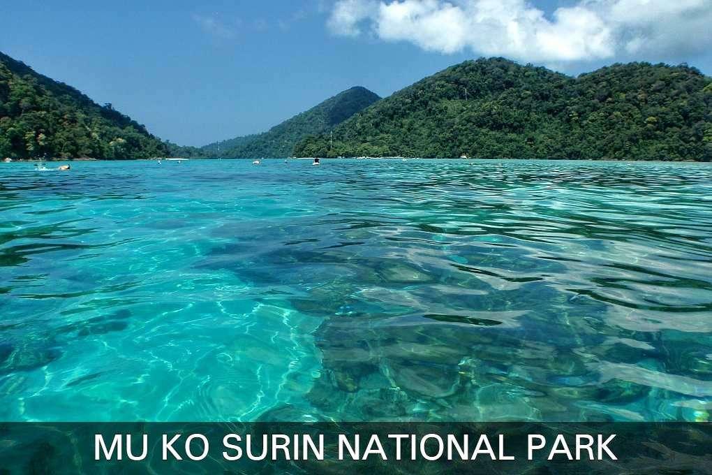 Lees hier alle informatie over het Mu Ko Surin National Park in Thailand