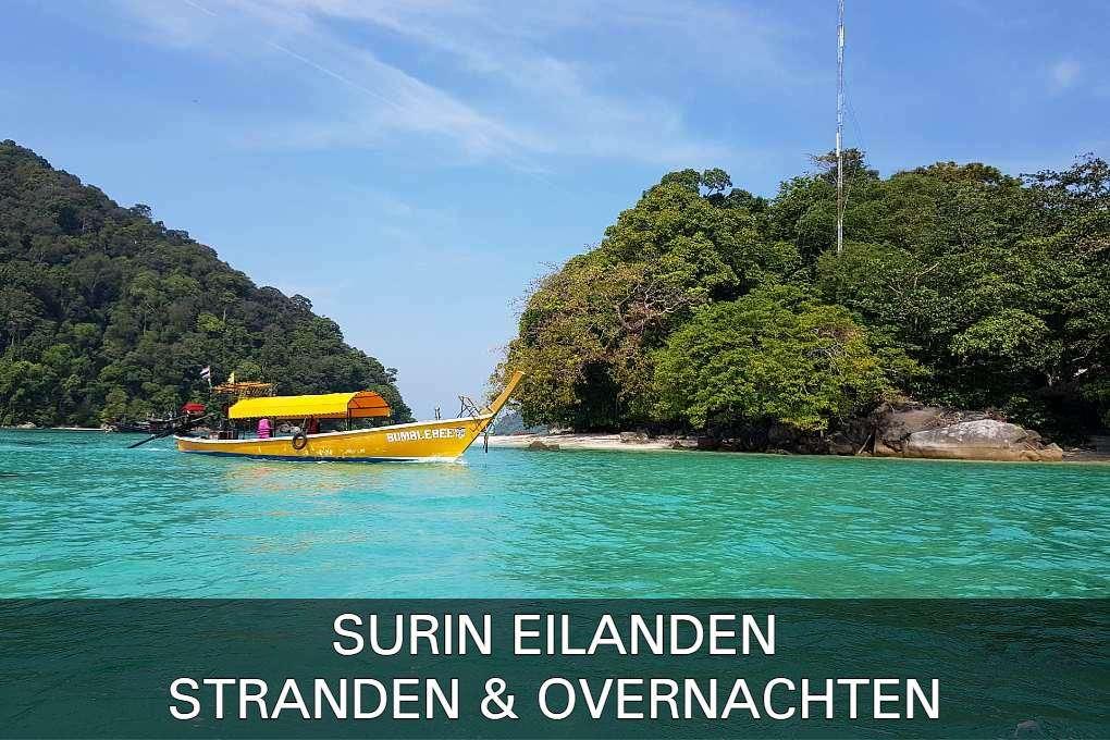 Lees Alles Over De Stranden & Overnachten Op De Surin Eilanden