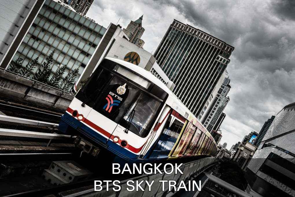 Lees Alles Over De BTS Sky Train In Bangkok