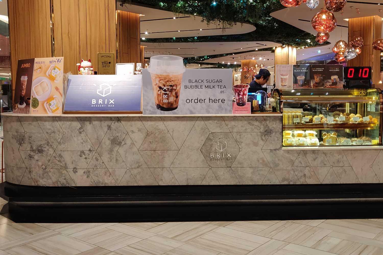 Brix Dessert counter