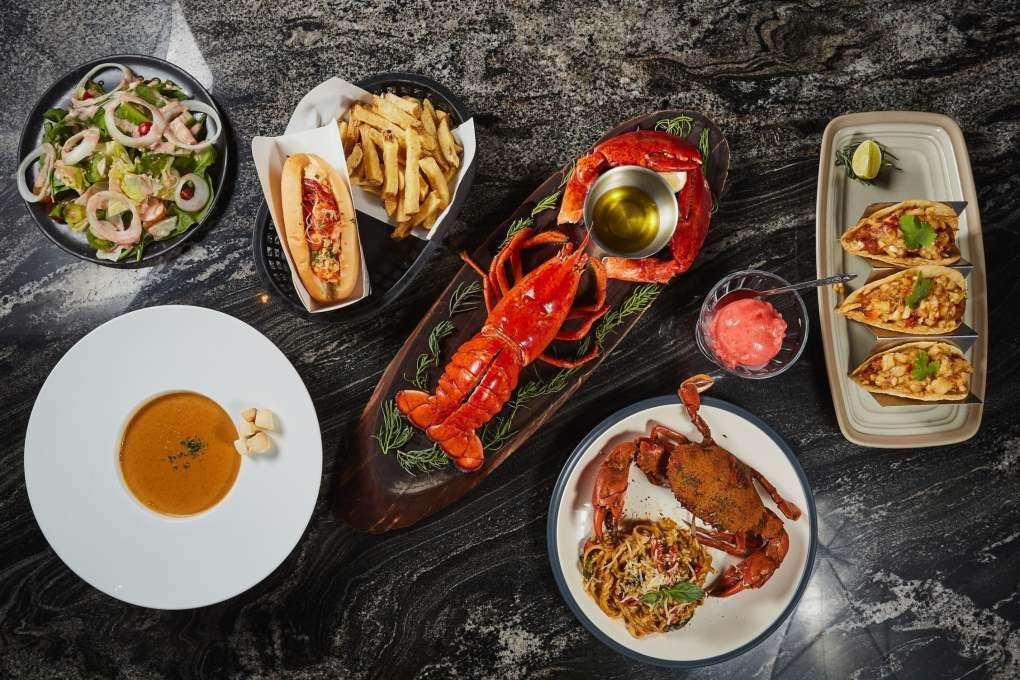 Krab, kreeft en nog meer lekkers bij Crab & Claw in Siam Paragon
