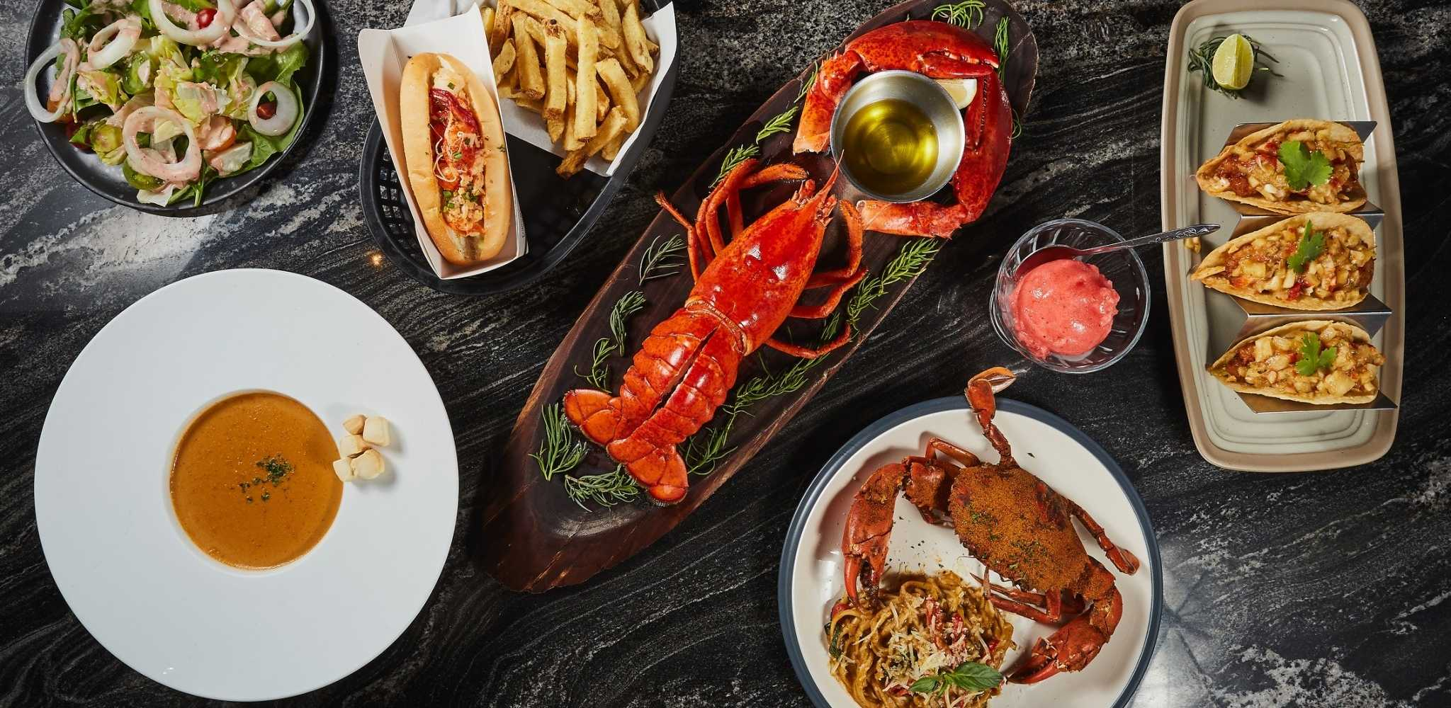 Crab, lobster and more goodies at Crab & Claw in Siam Paragon