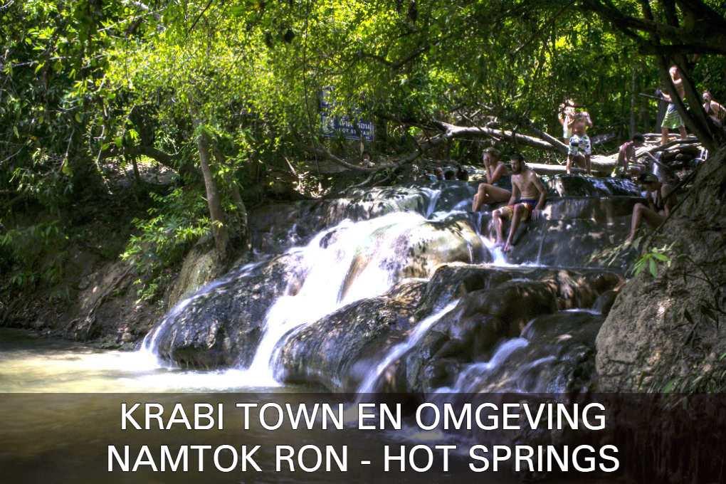 Klik hier als je meer wilt lezen over de Krabi Town Hot Springs ook wel Namtok on genoemd