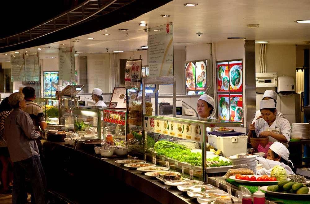 FoodHall in Siam Paragon (Bangkok)