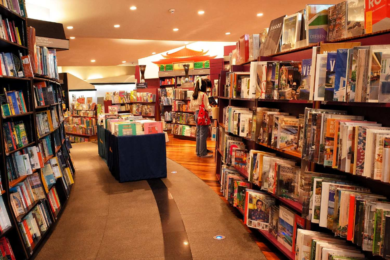 Bookstore in Siam Paragon Bangkok