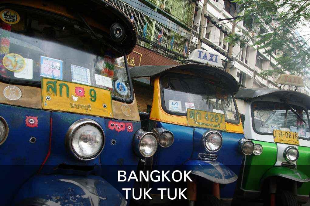 Lees Hier Verder Voor Meer Informatie Over De Tuk Tuk, Vervoer In Bangkok.