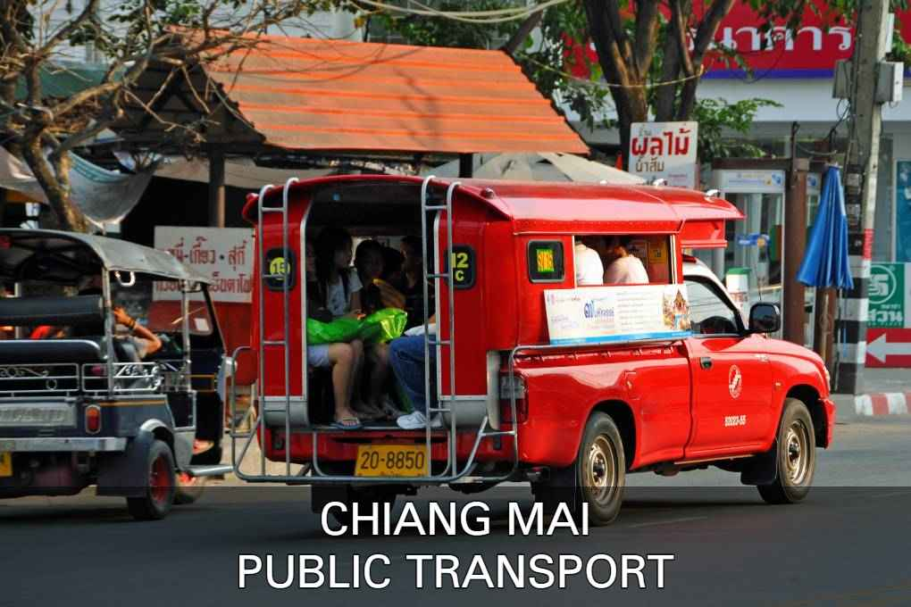 Read About The Public Transport In Chiang Mai