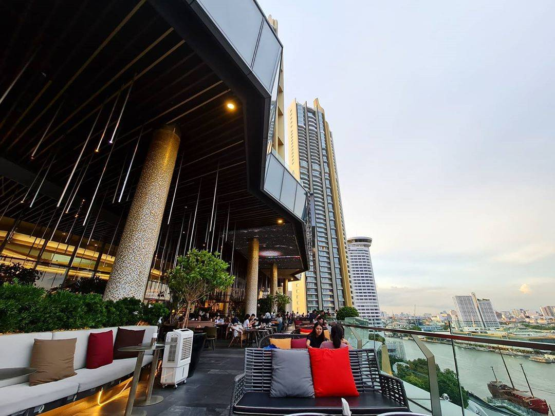 View from the Tasana Nakorn Terrace of ICONSIAM